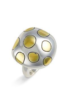 sterling silver mushroom ring - Şirine yüzüğü...