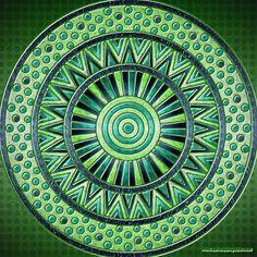 #colorfy #picoftheday #green #circles #mandala