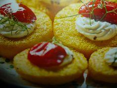 polenta ricette - cialde con formaggio