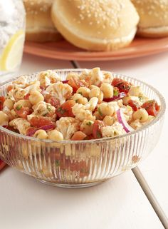 This Cauliflower and Tomato Salad is a vegetarian-friendly, fire roasted side salad that the whole family will enjoy!