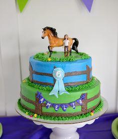 spirit horse birthday party spirit birthday cake spirit stallion of the cimmaron… - Shopkins Party Ideas 6th Birthday Cakes, Horse Birthday Parties, Cowgirl Birthday, Birthday Cake Girls, Birthday Party Themes, Birthday Ideas, Horse Cake, Horse Party, Party Cakes