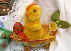 Easter chick, made by the sweet and talented Pat Murphy