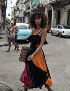 Photography: Benny Horne Styled by: Sara Fernandez Hair: Mark Hampton Makeup: Emi Kaneko Model: Anais Mali