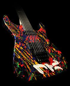 Jackson Phil Collen Handpainted Signature limited edition! This is what I want to do to mine!