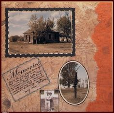 Ancestry Scrapbooking Layouts | heritage scrapbook layout - Google Search | scrapbooking