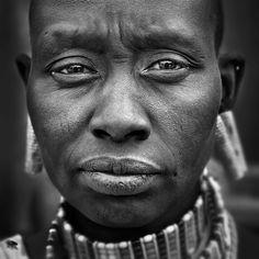 Massai woman Kenya.