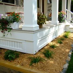 Azek Porch Design Ideas, Pictures, Remodel, and Decor