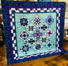 I am thrilled with My first #BOM.  #Quilter's Cupboard #BowDiddleyBOM #sampler #Bow Diddley www.jerrystubedesigns.com