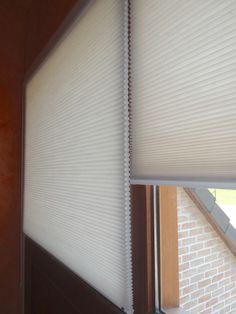 Raamdecoratie, binnendecoratie, plisol, binnenzonwering, gordijn, verduistering