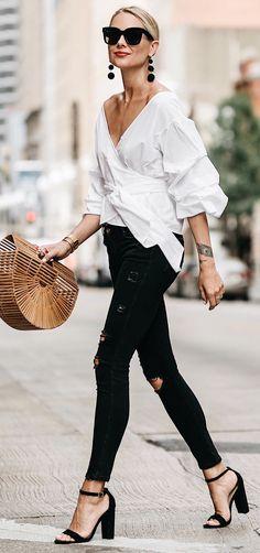 #summer #outfits Hoje na moda Jackson - Falando sobre minha tendência do saco favorito neste verão!