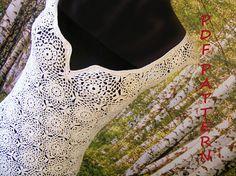 crochet wedding dress pattern elegant open back detailed Crochet Wedding Dress Pattern, Crochet Wedding Dresses, Wedding Dress Patterns, Crochet Yarn, Crochet Hooks, Open Back Wedding Dress, Digital Pattern, Dress For You, Crochet Patterns