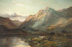 Loch Nagar by Alfred de Breanski (British 1852–1928)