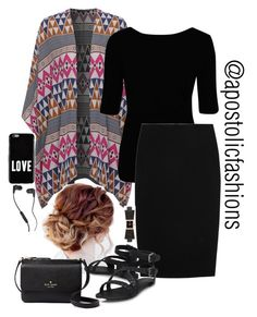 """""""Apostolic Fashions #1711"""" by apostolicfashions on Polyvore featuring Vivienne Westwood Anglomania, Alexander McQueen, Kate Spade, Givenchy and Skullcandy"""