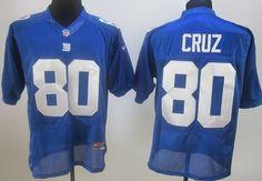 CHEAP NIKE NEW YORK GIANTS #80 VICTOR CRUZ BLUE JERSEY