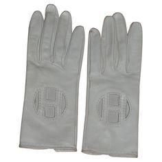 Hermès - Handschuhe aus Leder #vintagefashion