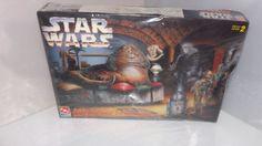 Star Wars Jabba The Hutt Throne Room Action Scene AMT ERTL Model  | eBay