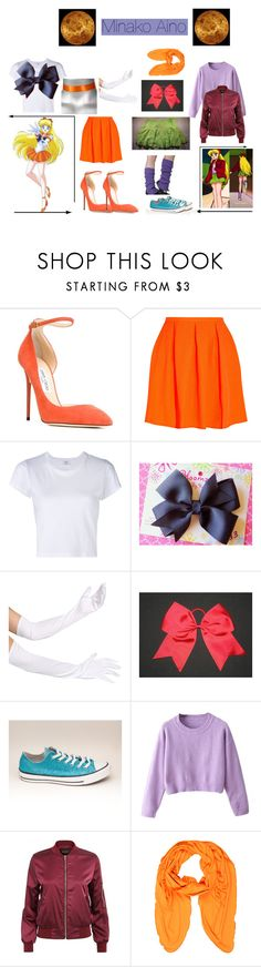 """Sailor Venus: Minako Aino"" by mya0nah21 on Polyvore featuring Jimmy Choo, Opening Ceremony, RE/DONE and Moschino"