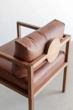 Umomoku: A Comfortable Outdoor Furniture Collection Designed for Lounging – Design Milk - New ideas Unique Furniture, Furniture Projects, Furniture Makeover, Furniture Decor, Modern Wood Furniture, Leather Furniture, Plywood Furniture, Outdoor Furniture, Furniture Online
