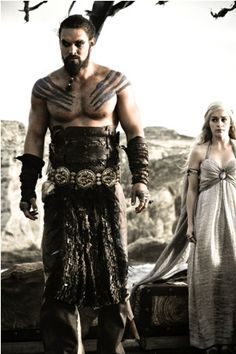 Game of Thrones - Khal Drogo & Daenerys Targaryen