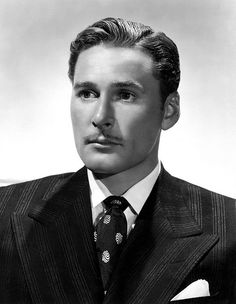 Errol Flynn - handsome but not a very nice person.  A womanizer personified.