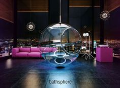 100 Extravagant Bathtubs - From LED Bathtubs to Hammock-Inspired Soakers (TOPLIST)