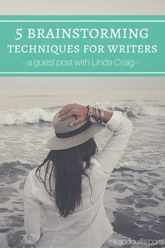 5 Brainstorming Techniques for Writers: A Guest Post by Linda Craig - Ink and Quills Pre Writing, Writing Advice, Writing Resources, Writing A Book, Writing Prompts, Writing Guide, Writing Ideas, Brainstorming Activities, Grit And Grace