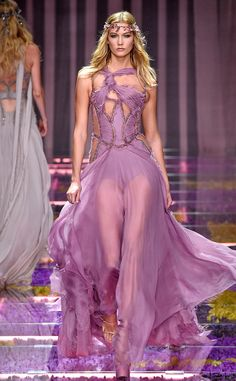 Atelier Versace from Best Looks from Paris Haute Couture Fashion Week Fall 2015