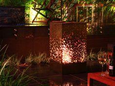 lantern outdoor bioethenol fireplace