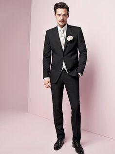 Hochzeitsanzüge - Inspiration für den Bräutigam   miss solution - Modell Sam Webb 2013.2