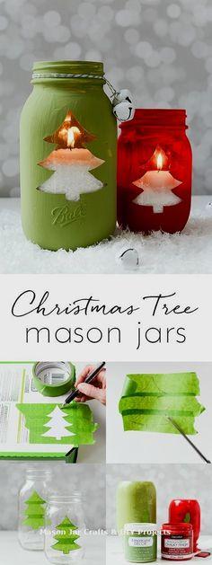 New Creative Mason Jar DIY Ideas  #Masonjar #masonjars