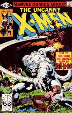 Uncanny X-Men #140 (Marvel 1980) Cover Art by John Byrne Inked by Terry Austin   http://ebay.to/1MkkL4b