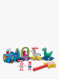 Peppa Pig Peppa's Magical Parade at John Lewis & Partners Peppa Pig Music, Name Day, Everyday Activities, Lead The Way, Little Pigs, Imaginative Play, Games To Play, Wands, Action Figures