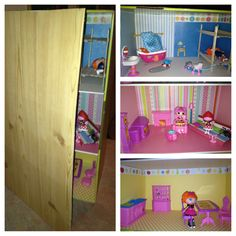 Make your own Lalaloopsy house (more pics)