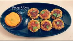 Paneer & Soya Patties | Paneer & Soya Cutlets  Patty need not always be meaty these can also be delicious veggie patty. Paneer & Soya Patties make a perfect appetizer for vegetarians and an absolutely healthy snack. This is one of best veg cutlet recipe without potatoes that tastes utterly delicious.