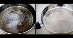 Το ήξερες; Δες πώς να κάνεις ολοκαίνουργιο το καμένο σου τηγάνι!