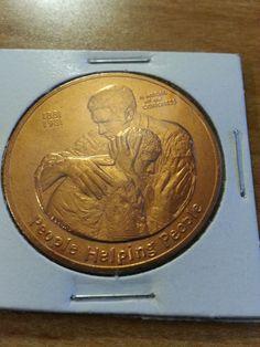 American Red Cross 1881-1981 Centennial Medal People Helping People