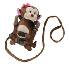 Eddie Bauer Harness, Girl Monkey  - Click image twice for more info - See a larger selection of  Baby harness & leashes   at   http://zbabybaby.com/category/baby-categories/baby-nursery/baby-chests-and-drawers/ - baby, toddler, baby shower gift ideas, kids.   « zBabyBaby.com