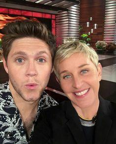 Niall at Ellen's show