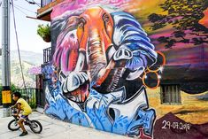 Graffiti Art, South America, Awesome, Painting, Board, Street Art, Colombia, Viajes, Columbia South America