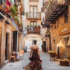 El Born Barcelona, Spain..