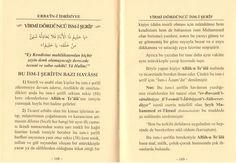 Erbain I Idrisiyye Cübbeli Ahmet Mahmut ünlü Erbaini Idrisiye
