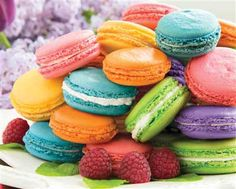 """Macarons!"" 1000 pieces | Springbok Jigsaw Puzzle | $17.95 @ BettesGifts.com #springbok #familyfun"