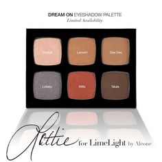 Limited Edition Lottie for LimeLight Dream on Palette