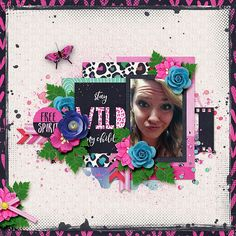 Layout using {Wild Cat} Digital Scrapbooking Collection by Digilicious Design http://www.sweetshoppedesigns.com/sweetshoppe/product.php?productid=37414&cat=936&page=2 #digiscrap #digitalscrapbooking #digiliciousdesign #wildcat