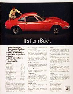 1970 Buick Opel GT