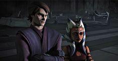 Anakin Skywalker And Ahsoka Tano, Anakin X Ahsoka, Darth Maul, Star Wars Rebels, Star Wars Clone Wars, Star Trek, Jedi Meister, Asoka Tano, Star Wars Baby