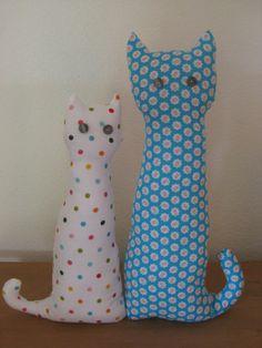 "Katzenpaar ""Türstopper & Deko"""