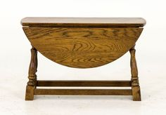 Antique Drop Leaf Table | Vintage Coffee Table | Scotland, 1920 | B545