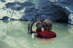 """""""Black Mirror"""" — Photographer: Michele Maglio – Mic Photo Model: Alessio Rubini Assistant: Silvia Pincelli"""