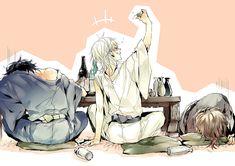 Date-gumi - Touken Ranbu - Image - Zerochan Anime Image Board Bleach Anime, Touken Ranbu, Manga Boy, Manga Anime, Me Me Me Anime, Anime Guys, Mutsunokami Yoshiyuki, Nikkari Aoe, Sengoku Basara